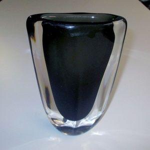 Danish Modern vintage Leaded Crystal Vase